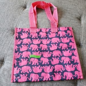 Lilly Pulitzer Tusk in the Sun Reusable market bag
